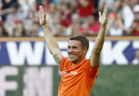 Podolski going nowhere - Galatasaray