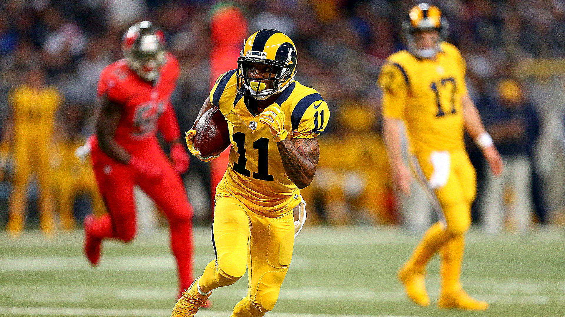 Rams withstand Bucs  rally in home finale as rumors about franchise s  future persist aa5d131bb