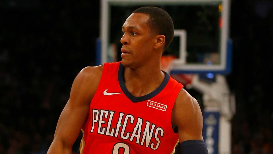 Lakers guard Rajon Rondo not  caught up  in starting c1817c6f5