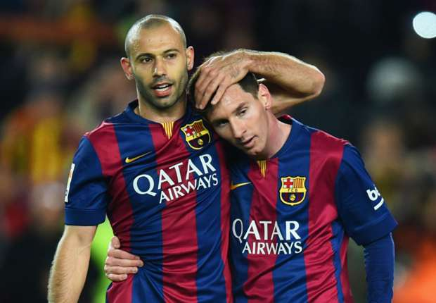 Messi petitioned to let Mascherano take a penalty