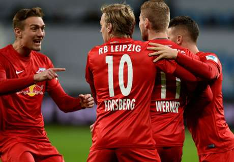RB Leipzig go top of Bundesliga