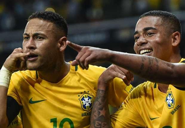 Neymar and Gabriel Jesus