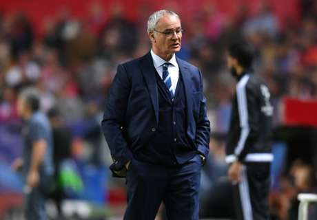 Ranieri: Sevilla better but we have heart