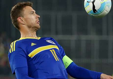 Dzeko bemused by Greece dismissal