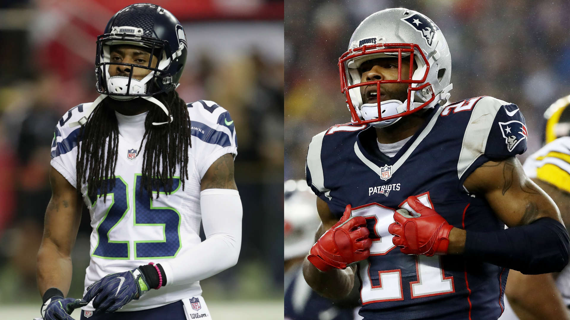 NFL trade rumors Malcolm Butler Richard Sherman remain with