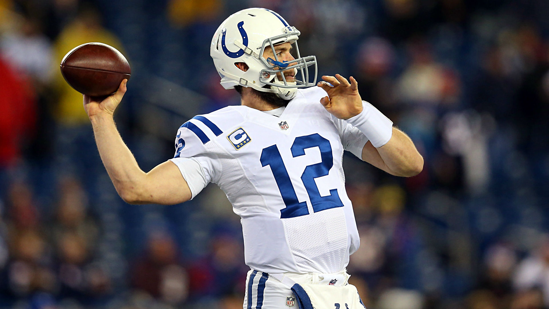 Colts taking Andrew Luck s return to practice slowly