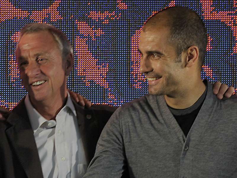 Guardiola: Nothing compares to Cruyff's football legacy