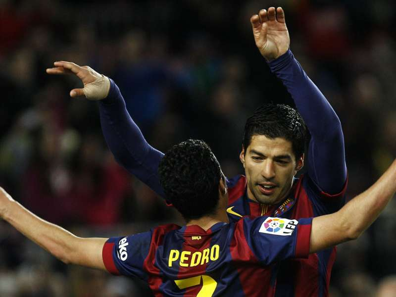 Suarez hoping for Pedro stay