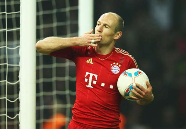Robben refusing to believe title hype