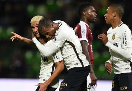 Monaco thrashes Metz 7-0