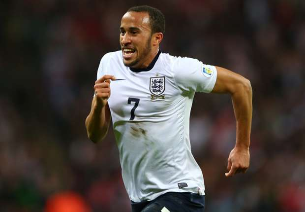 Tottenham attacking midfielder Andros Townsend