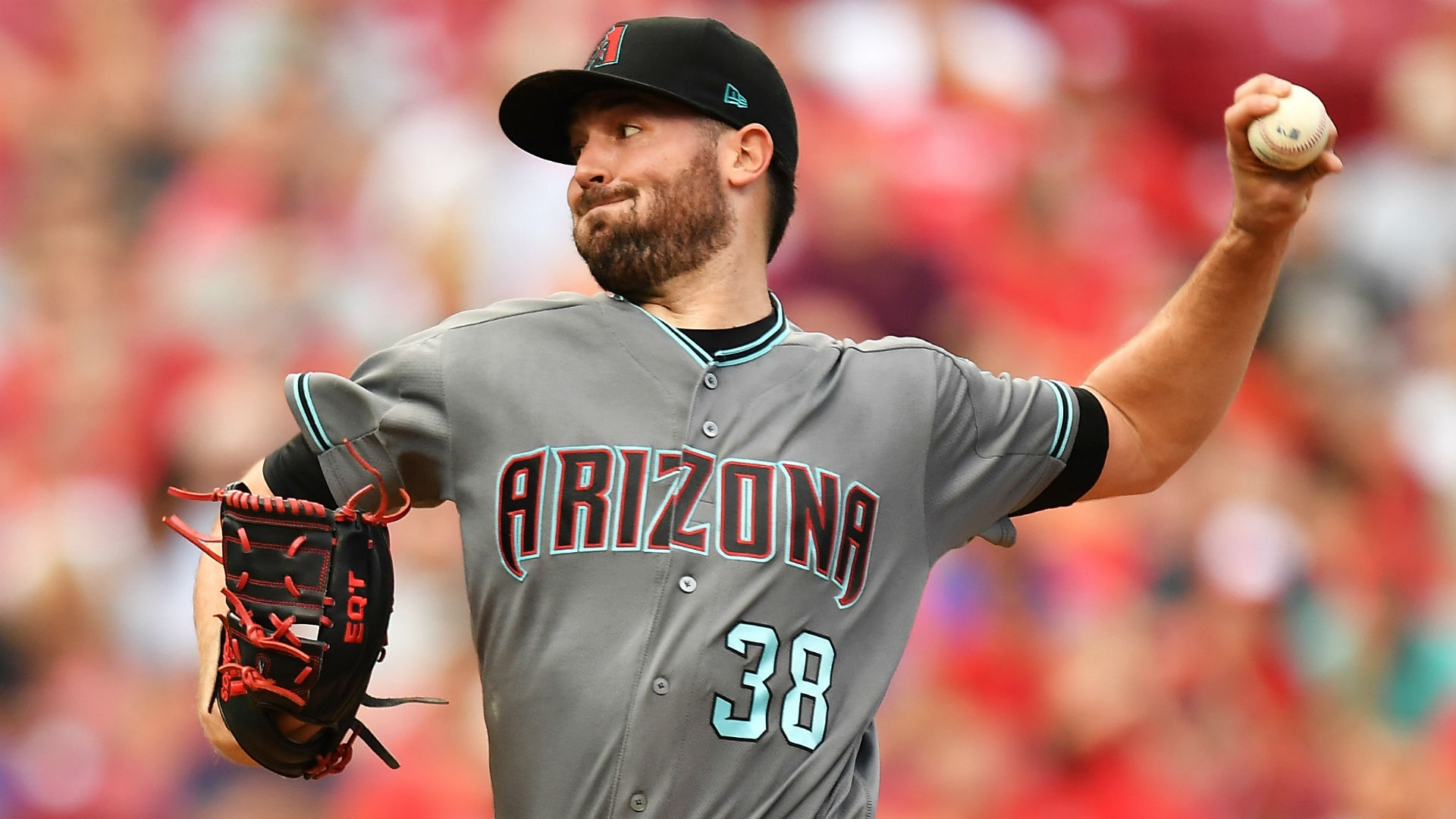 Diamondbacks starter Robbie Ray leaves game after getting hit in head