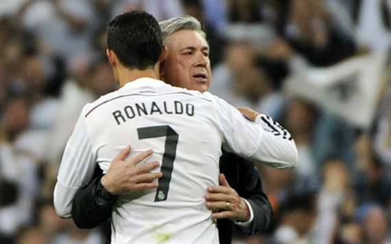 Ancelotti: Ronaldo's right, I'm a big bear