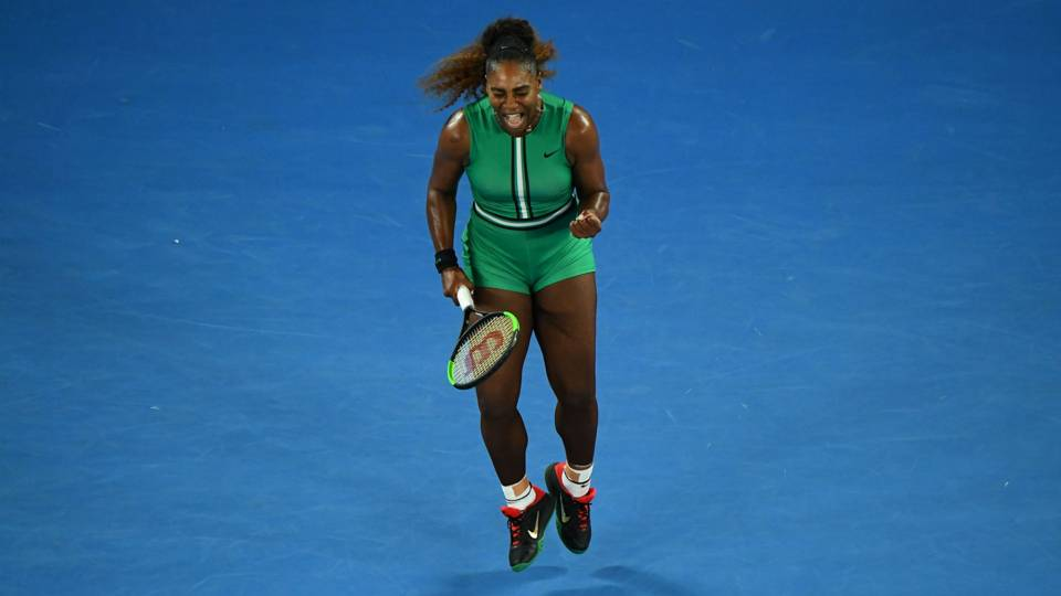 Australian Open 2019 Superb Serena Williams Blows Away Eugenie