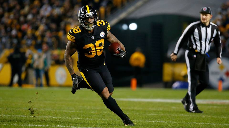 20f473b974f Steelers top Patriots behind huge performance from Jaylen Samuels · NFL
