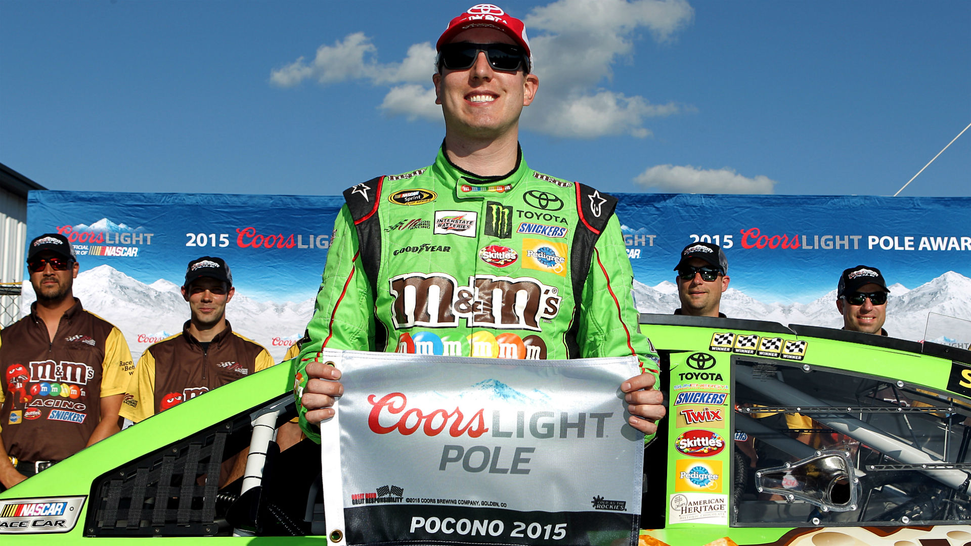 Sprint Cup qualifying: Kyle Busch continues torrid streak with Pocono pole