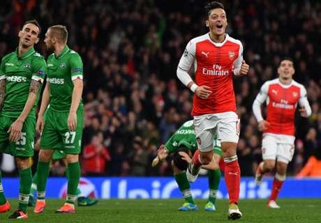 Wenger: Ozil's got a 'taste' for goals now