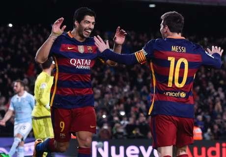Barcelona traint op Cruijffiaanse penalty