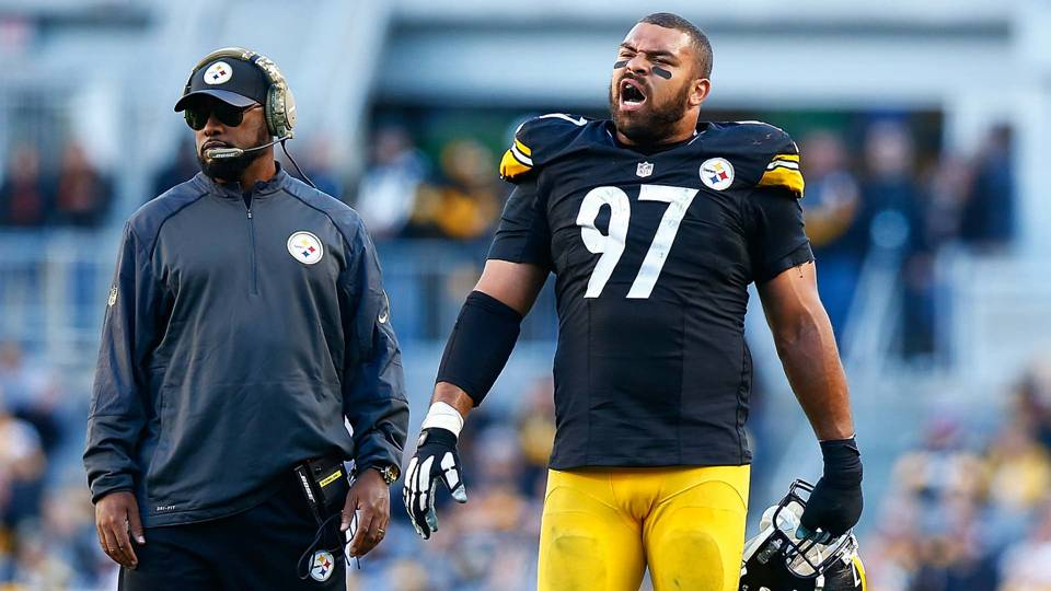 1bfc05c922c Cam Heyward says blaming Mike Tomlin for Steelers struggles is  a load of  crap