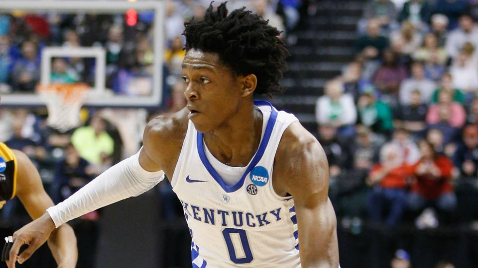 Kentucky PG De'Aaron Fox declares for NBA Draft | NBA ...
