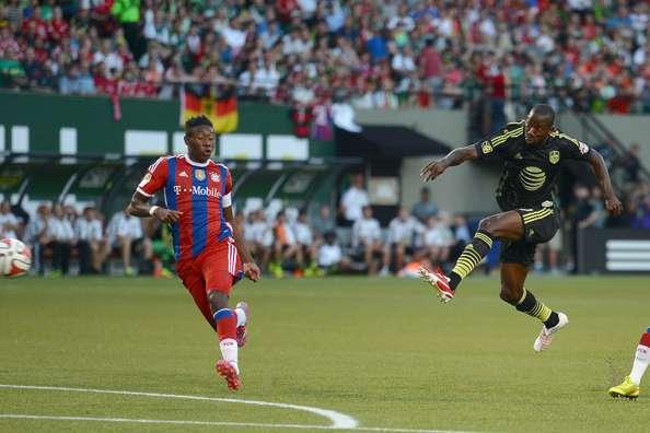MLS All-Stars striker Bradley Wright-Phillips