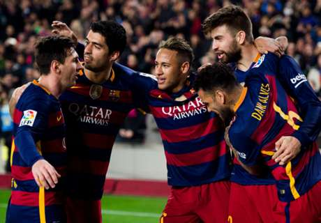 MSN rested for Valencia clash