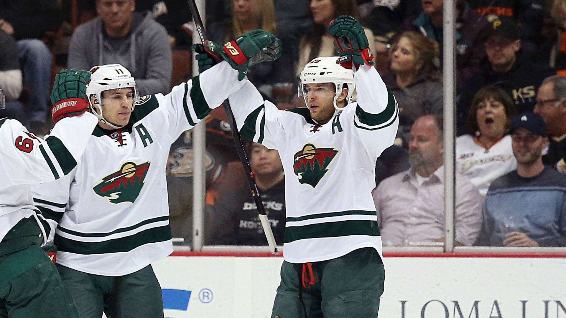 Wild's Parise, Pominville Diagnosed With Mumps