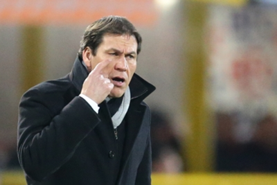 Garcia frustrated by toothless Roma