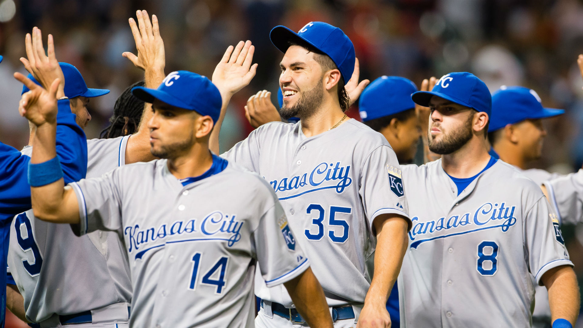 Royals players fine each other for not using 'Trap Queen' references