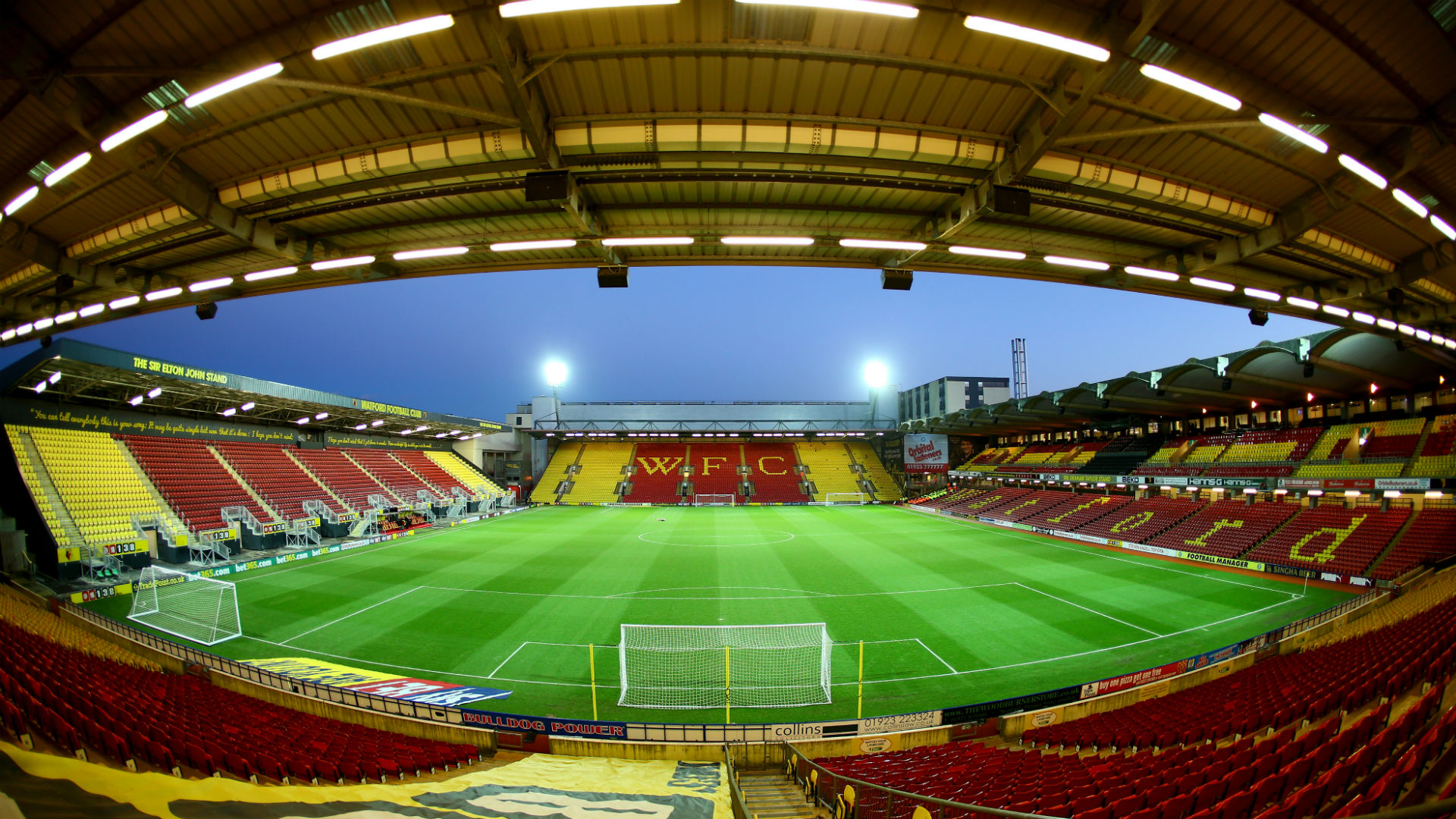 Vicarage Road - Cropped