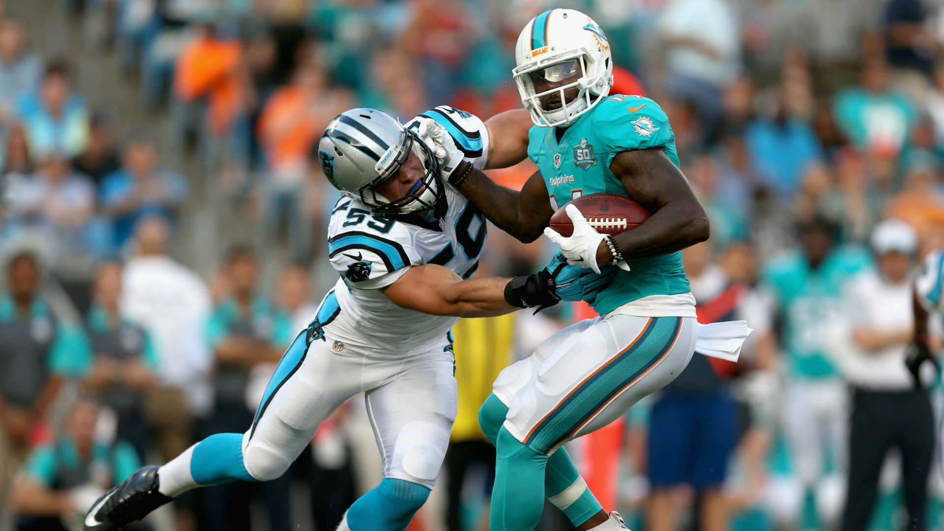 Dolphins Jarvis Landry LaMike James reportedly fought at team