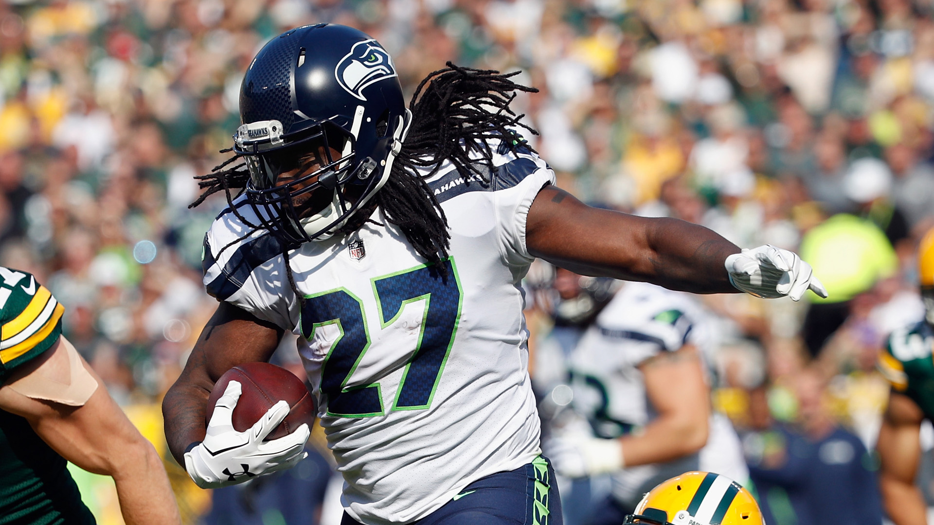 Eddie Lacy perfectly illustrates the weirdness of his weight goals being public