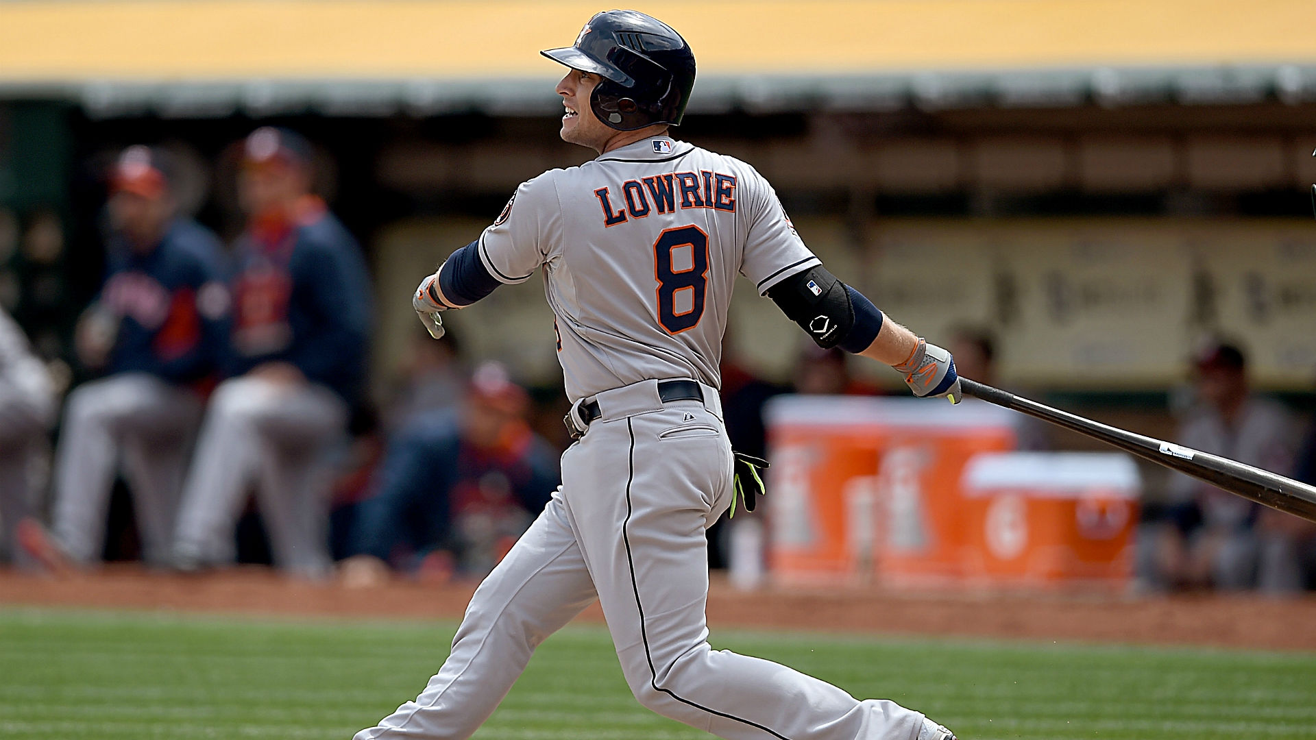 Astros shortstop Jed Lowrie