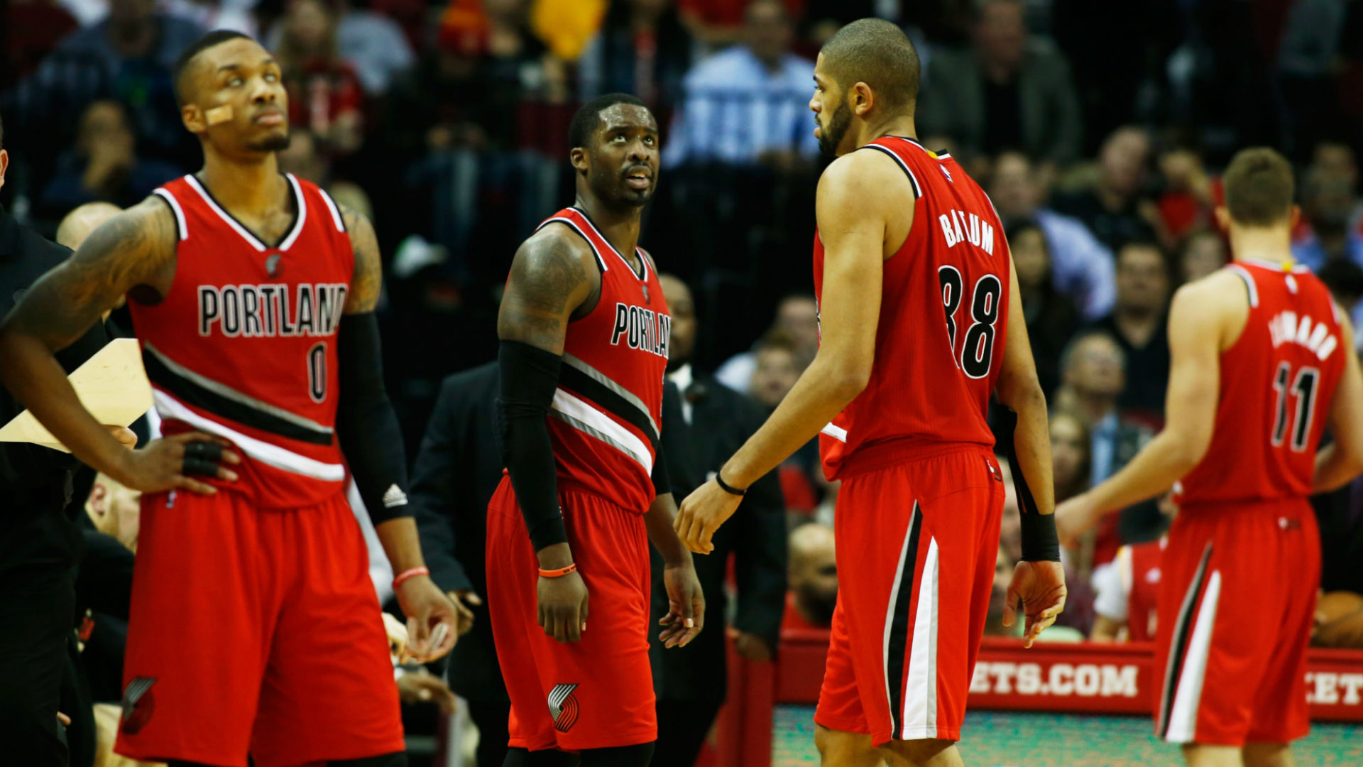 Trail Blazers post 'We don't lose to Spanish players' in locker room