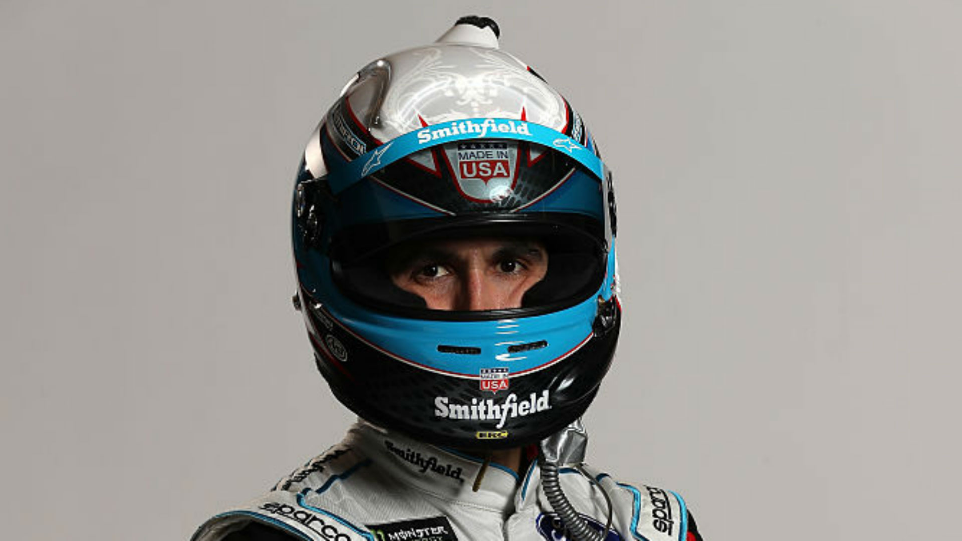Aric Almirola released from hospital after fiery wreck