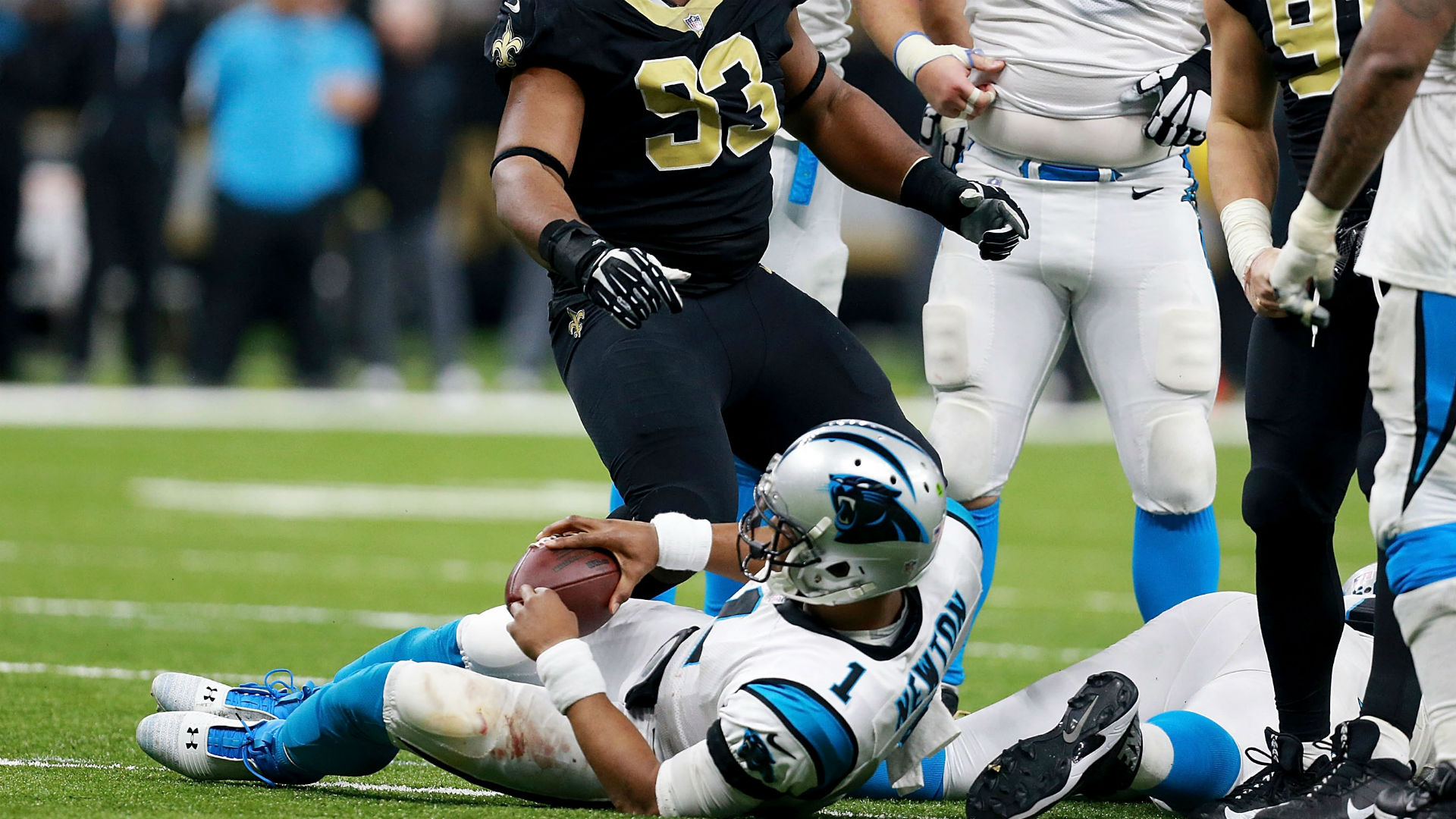 Cameron Jordan pokes fun at Cam Newton after Saints' win