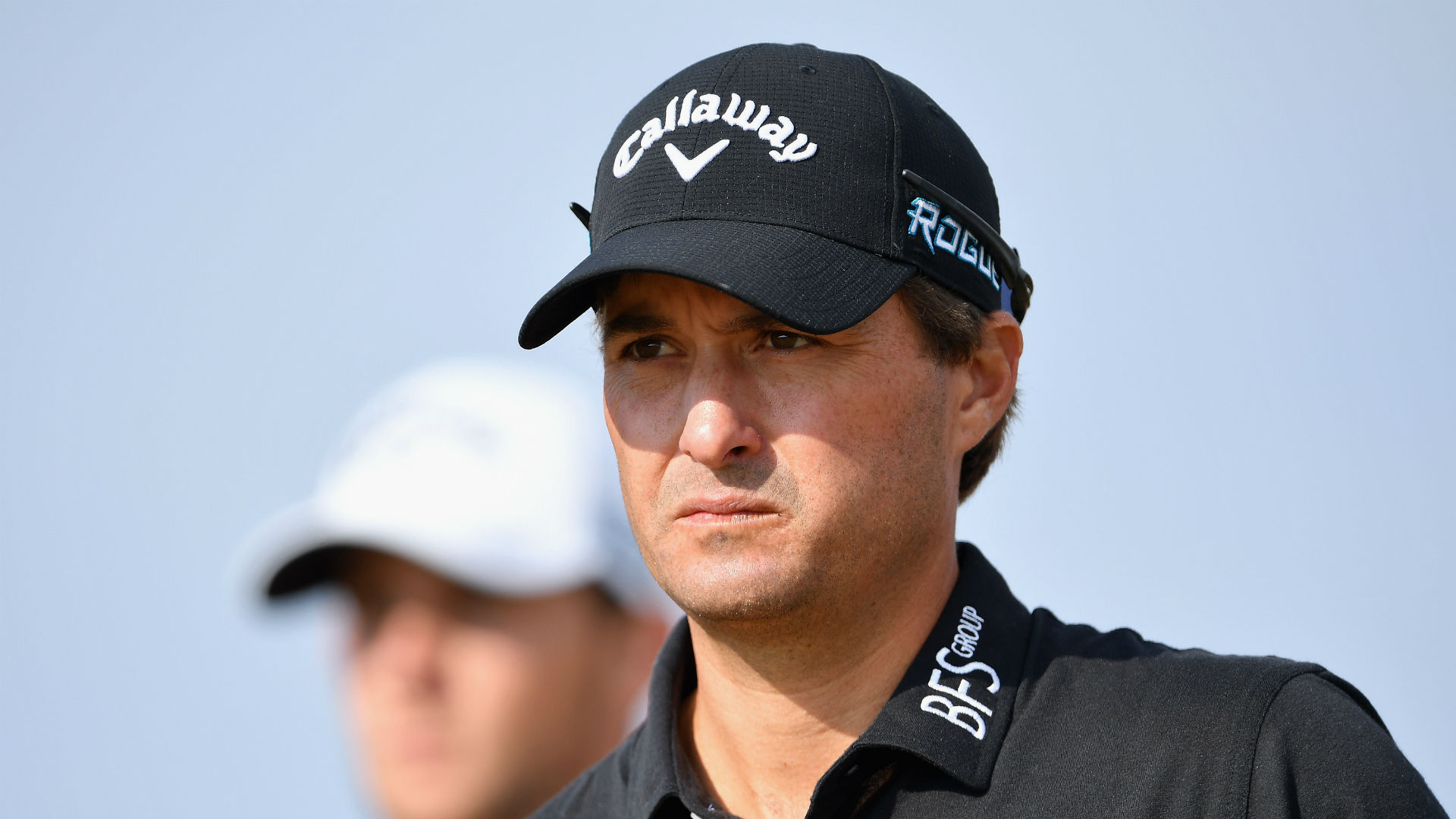 American Kisner early leader in benign Open conditions