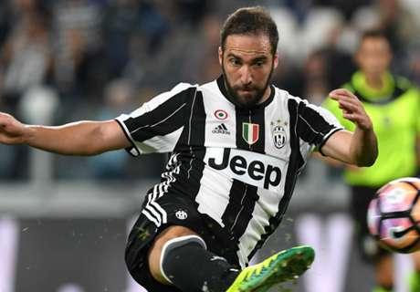 Higuain stars on return to Juve line-up