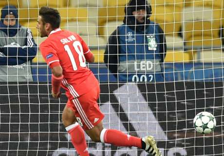More woe for Kiev after Benfica loss