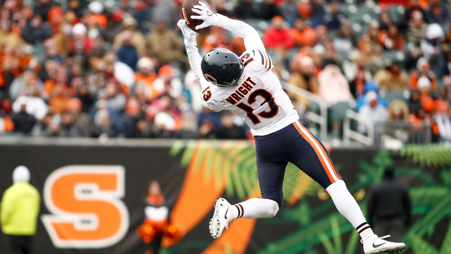 Vikings Sign Kendall Wright, Who Led Chicago Bears In Receiving