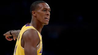 20d876884 Lakers G Rajon Rondo explains why he didn t take wide open layup late in  loss to Spurs