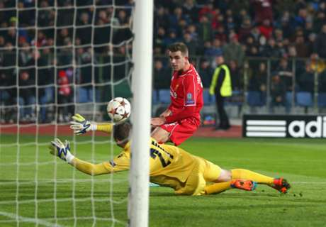 Ludogorets 2-2 Liverpool: Late draw