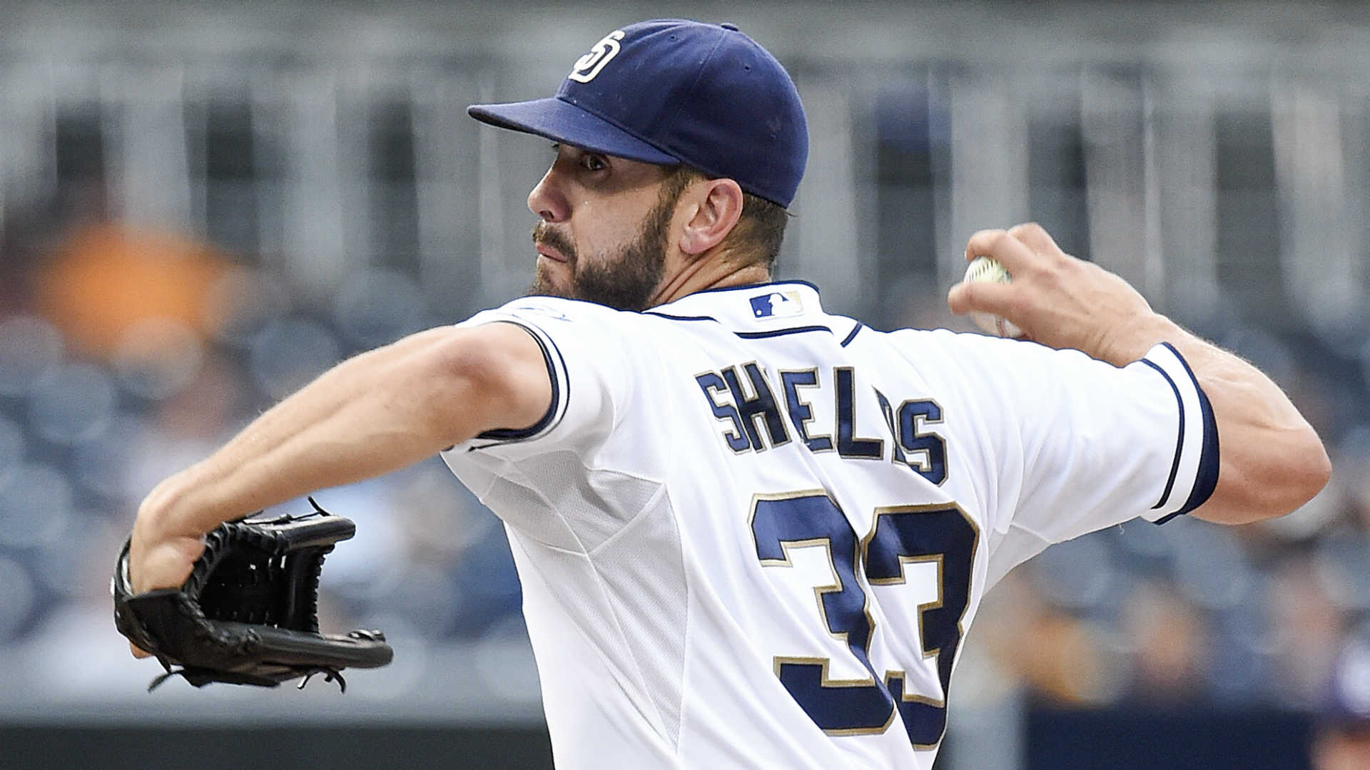 Padres pitcher James Shields