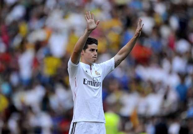 James Rodríguez recibirá su primer galardón individual desde que fichó por el Real Madrid