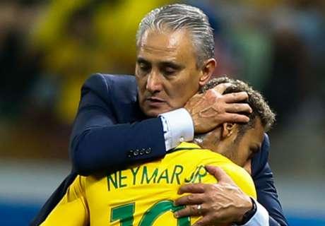 Tite: Brazil won't be taking Neymar risks