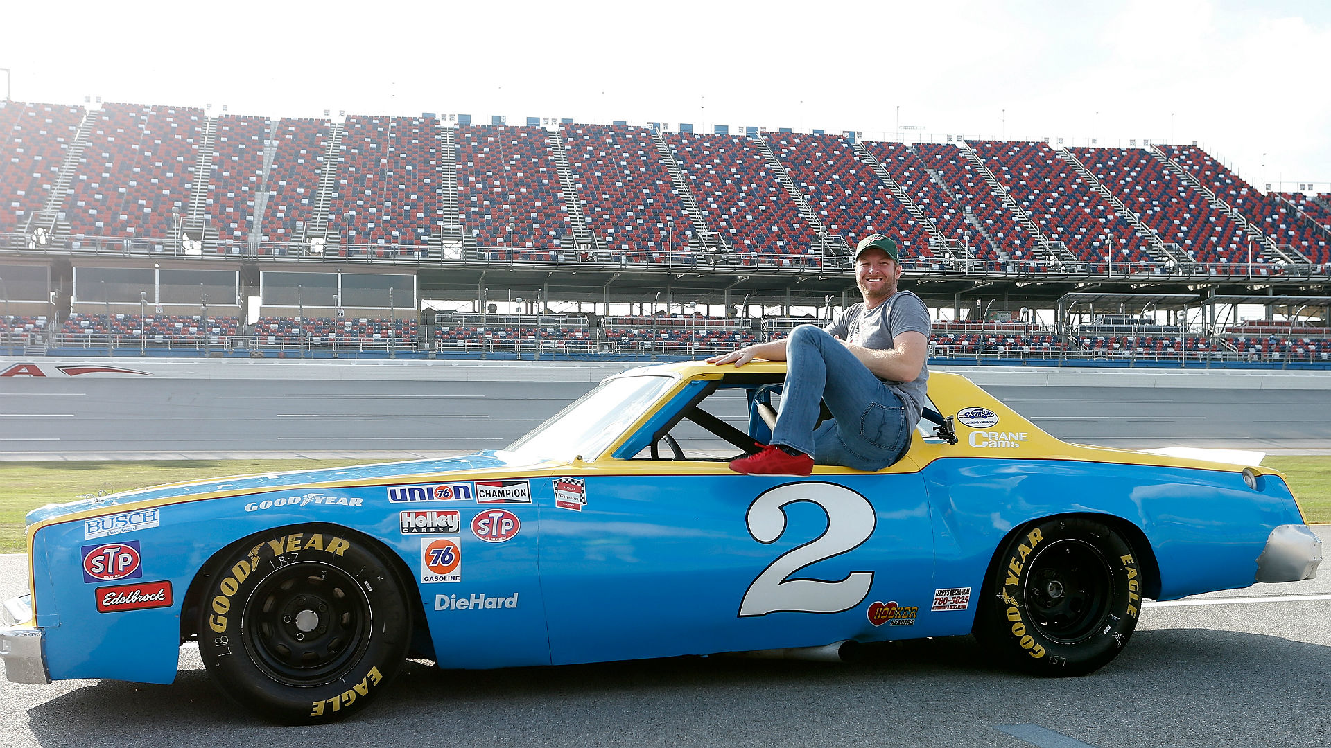 Watch: Talladega gifts Dale Earnhardt Jr. with dad's '79 Monte Carlo