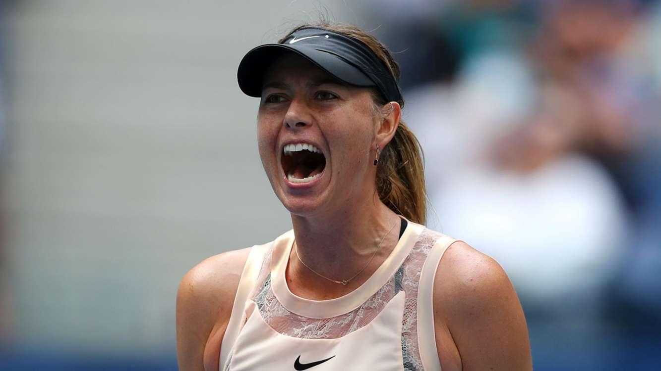 Sharapova sails into Tianjin semi-finals