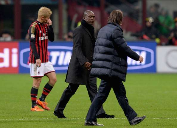 Seedorf pleased with Milan performance despite defeat