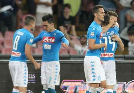 FT: Napoli 4-2 Milan