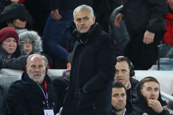 Mourinho: All Manchester United can achieve is fourth